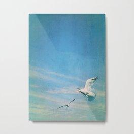 flying into blue II Metal Print