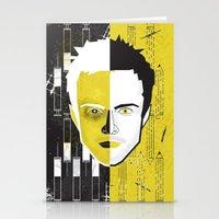 jesse pinkman Stationery Cards featuring Jesse Pinkman  by Micah Lanier