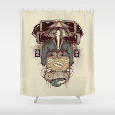 Transcendental Tourist Shower Curtain