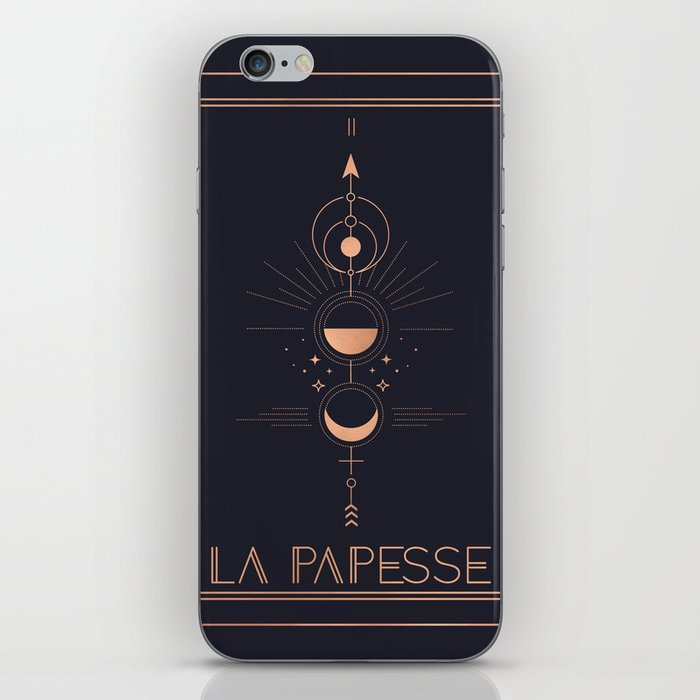 La Papesse or The High Priestess Tarot iPhone Skin