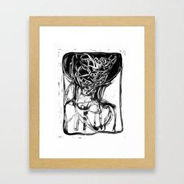 Portrait II Framed Art Print