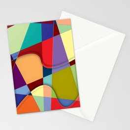 Abstract #303 Stationery Cards