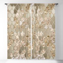 Mermaid Glitter Scales #5 #shiny #decor #art #society6 Blackout Curtain