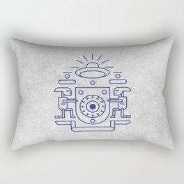 UFO Watchers Rectangular Pillow
