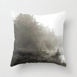 Diamond Bog Throw Pillow