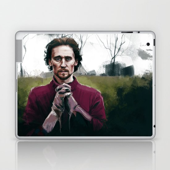 Henry V praying Laptop & iPad Skin