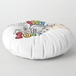 Fall Groupie 2017 Floor Pillow
