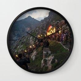Newroz in Akre Wall Clock