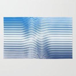 Geometric Ocean Rug