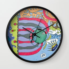 use your imagination Wall Clock