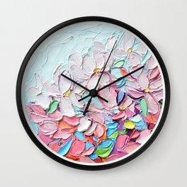 Yoshino Petals Wall Clock