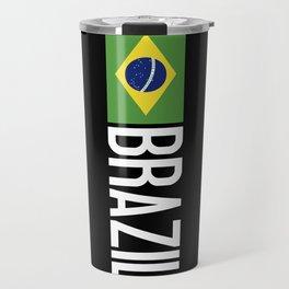 Brazilian Flag Travel Mug