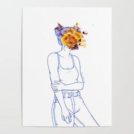 Wallflower (III) Poster