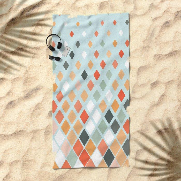 Disconnect Beach Towel