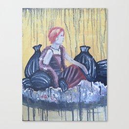 Trashy Romance Canvas Print