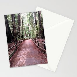 A Walk Among Giants Stationery Cards