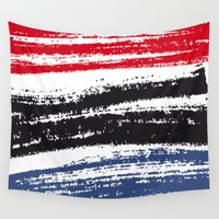 pen Wall Tapestries featuring Marker Pen by Psocy Shop