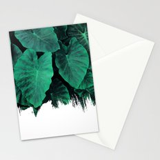 Painting on Jungle Stationery Cards