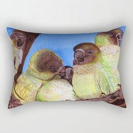 Birds of a Feather by Maureen Donovan Rectangular Pillow