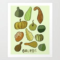 Good Gourd! Art Print