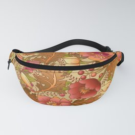 Fall Flowers Fanny Pack