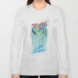 Aurora bird Long Sleeve T-shirt
