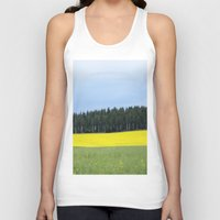 sweden Tank Tops featuring Sweden by Anya Kubilus