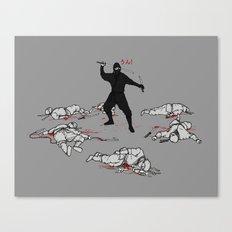 Racist Ninja Canvas Print