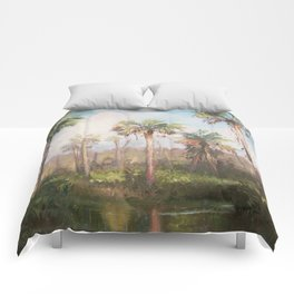 Heart of the Everglades Comforters