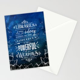 Libraries Stationery Cards