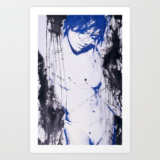 Shower Scene Art Print