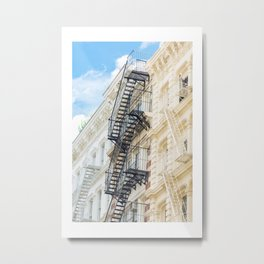 Summer in Soho Metal Print
