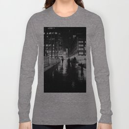 New York City Noir Long Sleeve T-shirt