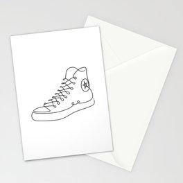 Chucks - Single line art Stationery Cards