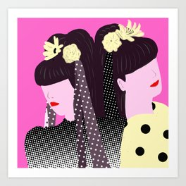 Strawberry Switchblade Art Print
