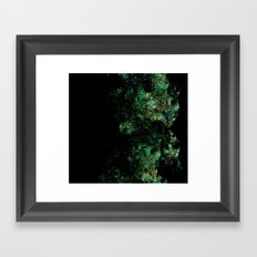 Lizard MAn fractal art  Framed Art Print
