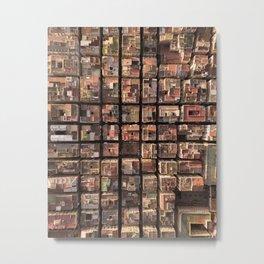 tetris Metal Print