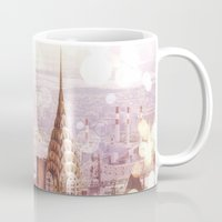 nyc Mugs featuring NYC by Vivienne Gucwa