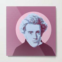 Soren Kierkegaard Metal Print