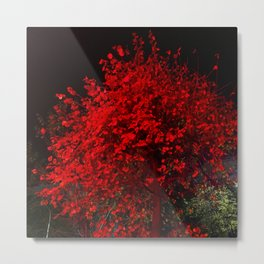 The Red October Metal Print
