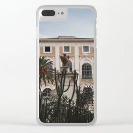 Welcome To Ma Crib Clear iPhone Case
