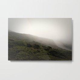 Fogbound on Twin Peaks, III Metal Print