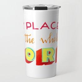 The whole world Travel Mug