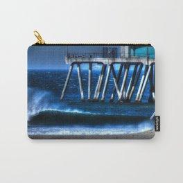 Santa Ana Winds Huntington Beach California Carry-All Pouch
