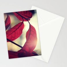Sunset Red Stationery Cards