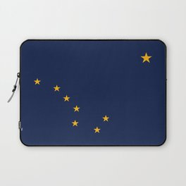 Alaska State Flag, Authentic version Laptop Sleeve