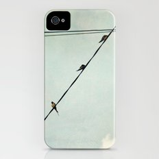 Swallows Slim Case iPhone (4, 4s)