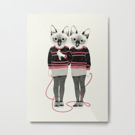 siamese twins Metal Print
