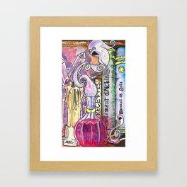 élixir d'âmes en peine Framed Art Print