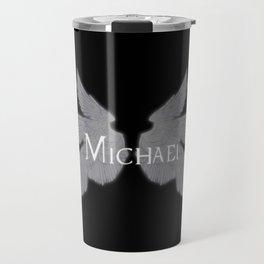 Archangel Michael with Wings Travel Mug